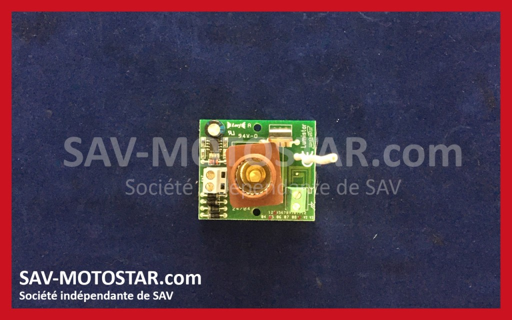 Carte LUMISTAR 24V RADIO