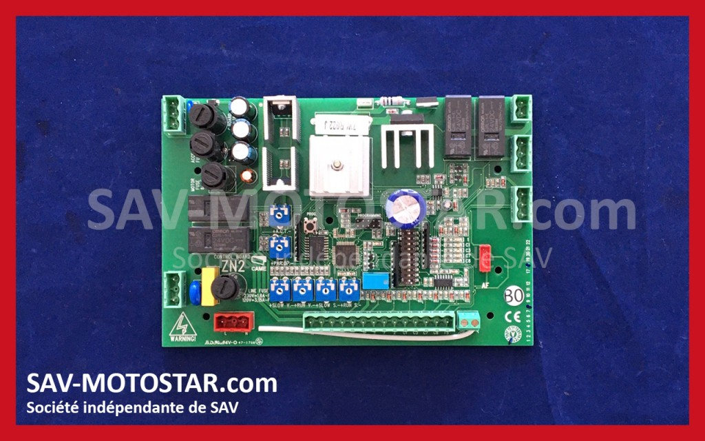 Carte ZN2 New LINESTAR